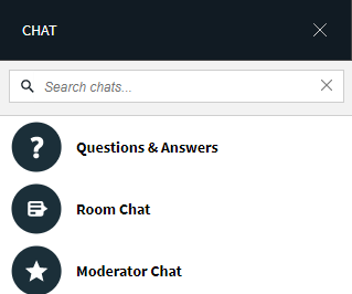First time chat window