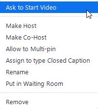 More options for participants